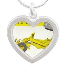 Tournapull Model C Silver Heart Necklace