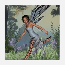 Bluebell Fairy Tile Coaster