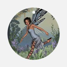 Bluebell Fairy Round Ornament