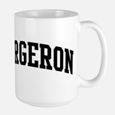 BERGERON (curve-black) Mugs