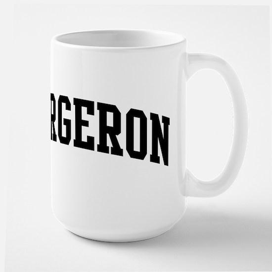 BERGERON (curve-black) Mugs