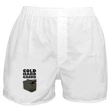 Cold Hard Cache Boxer Shorts