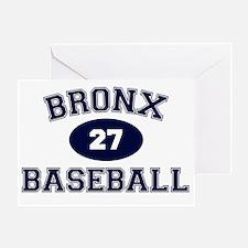 BronxBaseball27 Greeting Card