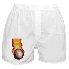 HOT_BASEBALL_FASTBALL_FLAMING_545_iph Boxer Shorts