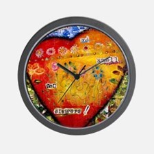 Stop and Smell the Flowers II-png-300dp Wall Clock