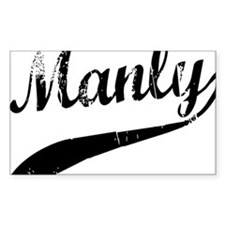 Manly Decal