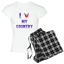 MY COUNTRY copy Pajamas
