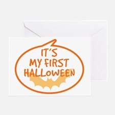 Babys First Halloween Greeting Card