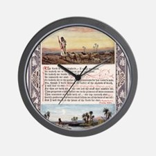 The_Sunday_at_Home_1880_-_Psalm_23 Wall Clock