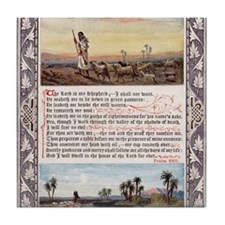 The_Sunday_at_Home_1880_-_Psalm_23 Tile Coaster