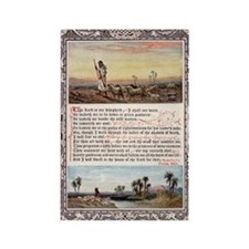 The_Sunday_at_Home_1880_-_Psalm_2 Rectangle Magnet