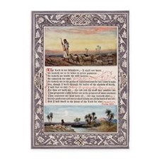 The_Sunday_at_Home_1880_-_Psalm_23 5'x7'Area Rug