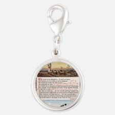 The_Sunday_at_Home_1880_-_Psal Silver Round Charm