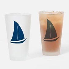 sailboat Drinking Glass