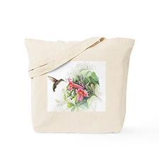 Hummingbird_Card Tote Bag