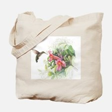 Hummingbird_Card Tote Bag