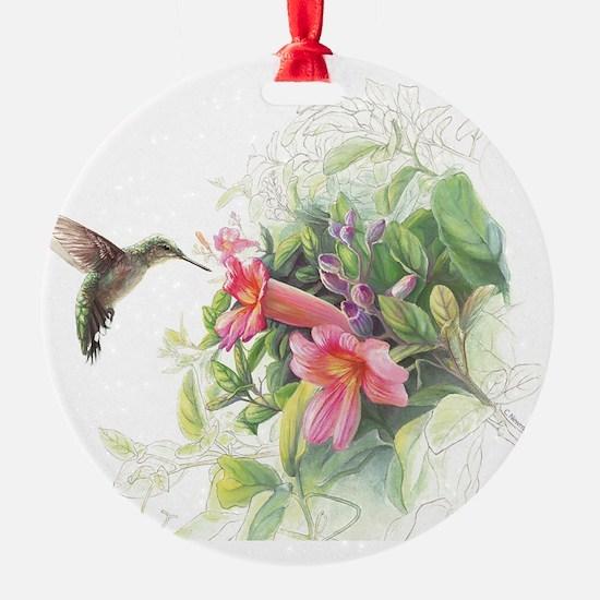 Hummingbird_Card Ornament