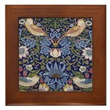 William morris strawberry thief Framed Tiles