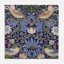 William Morris Strawberry Thief Tile Coaster