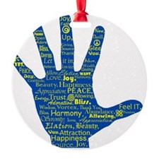 Hand Affirmations Ornament