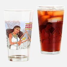 Nuhamin_AfricanPrincess Drinking Glass