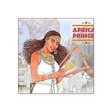 "Nuhamin_AfricanPrincess Square Sticker 3"" x 3"""