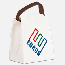 enron Canvas Lunch Bag