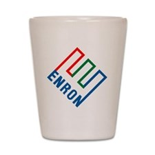 enron Shot Glass