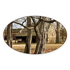 Batsto Horse Barn - Print Decal