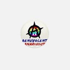 benevolent anarchist-1 Mini Button