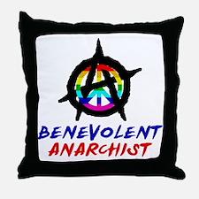 benevolent anarchist-1 Throw Pillow