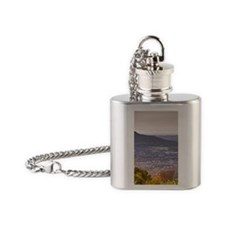 This is SVC Journal Flask Necklace