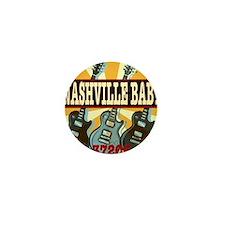 Nashville Baby 37206 Mini Button