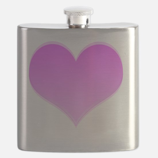 Heart only Flask