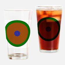 Virgo Capricorn Aquarius Drinking Glass