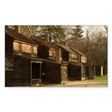 Batsto Houses - Print Decal