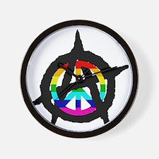 benevolent anarchist-hat Wall Clock