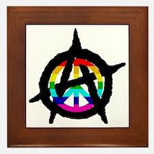 benevolent anarchist-hat Framed Tile
