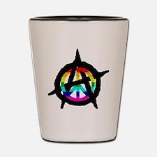 benevolent anarchist-hat Shot Glass