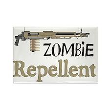 2-ZombieRepellent Rectangle Magnet