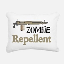 2-ZombieRepellent Rectangular Canvas Pillow