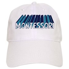 modern montessori color Baseball Cap