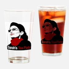 Sarahs Tea Party Drinking Glass