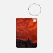 mammatus cloud miniposter Aluminum Photo Keychain
