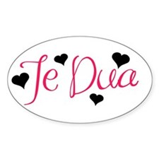 Te Dua Oval Decal