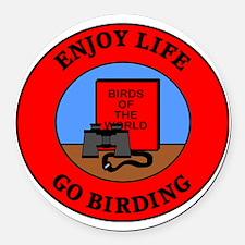 birding2 Round Car Magnet