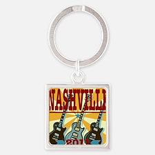 Nashville 2011 Square Keychain