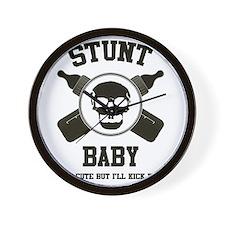 STUNTBABY-233 Wall Clock