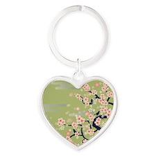 JAPANESE Blossom Heart Keychain