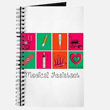 Medical Assistant Pop Art 2 Journal